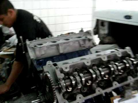 Reparaci 243 N De Motor Ford E350 Youtube