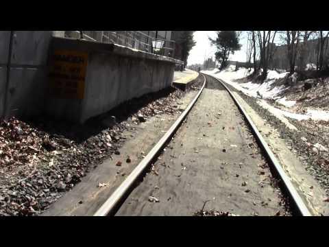 Bay Colony Railroad Needham MA Needham Heights Part 4.