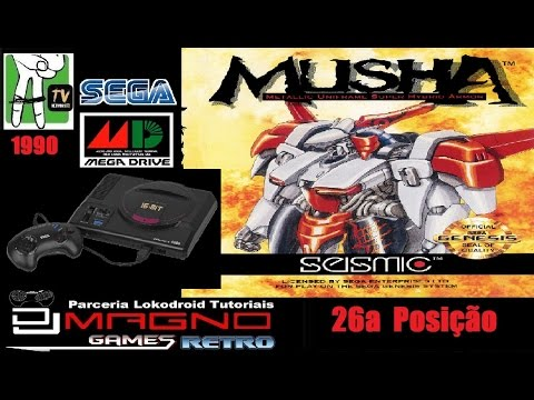 MUSHA Seismic™ Software 1990 Sega ® Mega Drive Top 30™