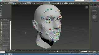 How to create bones for facial rig in 3ds Max - FaceEngine fixed