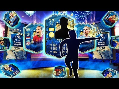 25 x GUARANTEED PREMIER LEAGUE TOTS PACKS!! FIFA 20 Ultimate Team