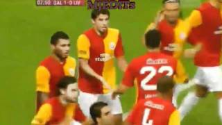 Galatasaray vs liverpool 1-0 goal milan ...