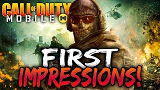Call of Duty Mobile   My First Game & Impressions..