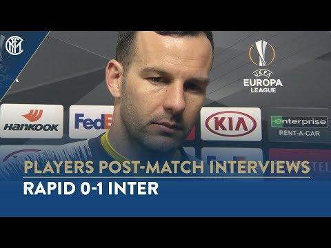 RAPID 0-1 INTER | SAMIR HANDANOVIC INTERVIEW: 'Happy with the result'
