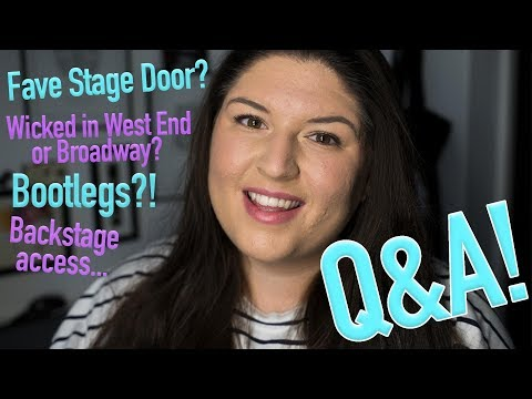 Answering Your Broadway/Theatreland Questions! 💁🏻