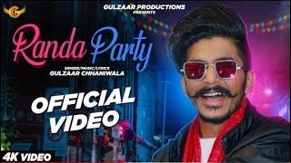 RANDA PARTY !! GULZAAR CHHANIWALA ( Official Video ) Latest Haryanvi Song 2020, Ronda party new song