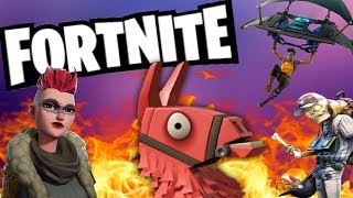 Fortnite halloween huge llama opening with insane rewards all epic monsters !!