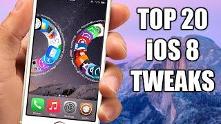 TOP 20 Cydia Tweaks Compatible With iOS 8 - 8.1 Jailbreak