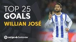 TOP 25 GOALS Willian José en LaLiga Santander