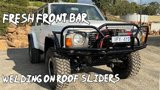 How to fit beadĮocks + Roof sliders + Fresh Red winch and front bar Ep - 10