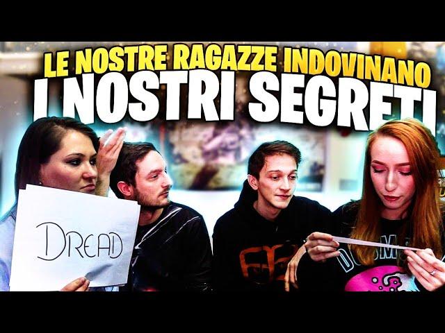 LE NOSTRE RAGAZZE INDOVINANO I NOSTRI SEGRETI PIU NASCOSTI! w/Rohn,Dread,Ioana,Michelle