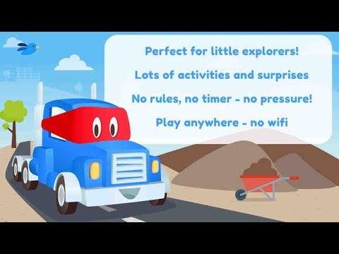 Super Truck Carl | Big Monster Truck Videos for Toddlers | ABC Kids Cars TV