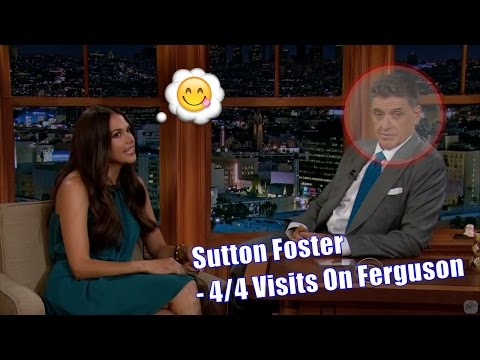 Sutton Foster  Sings A  About The Late Late   44 Visits In Chronological Order 720p
