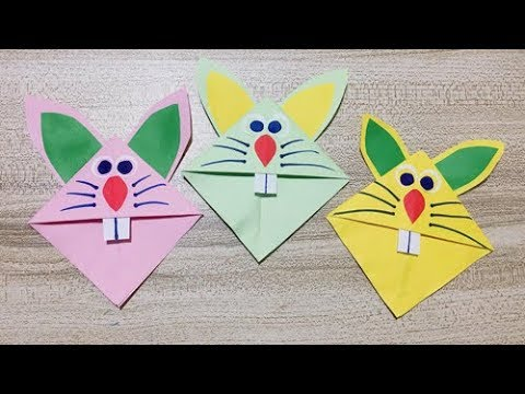 Cute DIY Origami Rabbit | Paper Craft for Kids