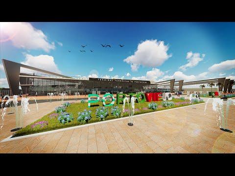 Terminal Terrestre de Portoviejo - Manabí Ecuador