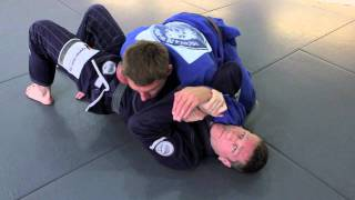 Surprise BJJ attack - submission from underneath side control
