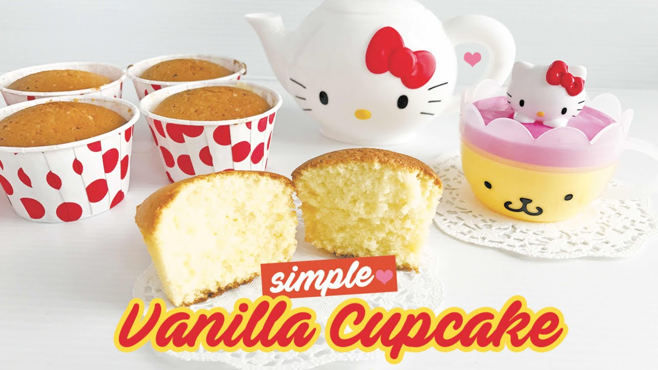 how to make simple vanilla cupcakes