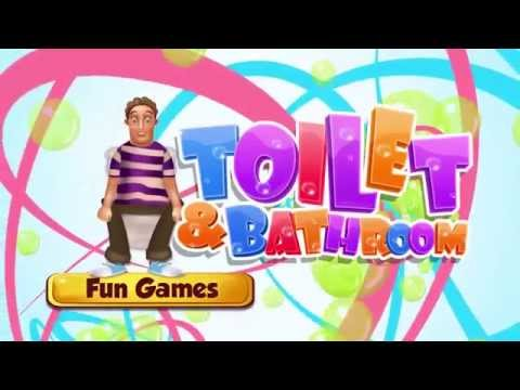 Toilet & Bathroom Fun Game IOS/Android Gameplay Trailer By GameiMax