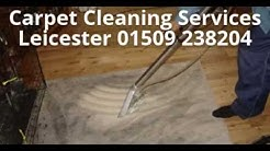 Carpet Cleaning Services Leicester