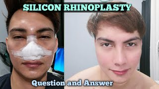 Silicon Rhinoplasty Philippines Question and Answer Vlog #52