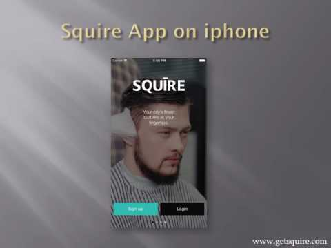 Squire barber appointment app| how squire work? | listing barber shop| Hair Dresser Book