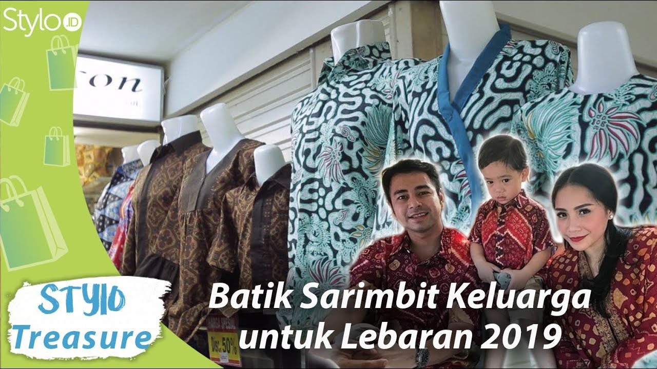 Model Baju Couple Keluarga Ala Raffi Ahmad Nagita Slavina Di Pusat Grosir Cililitan Batik 2019