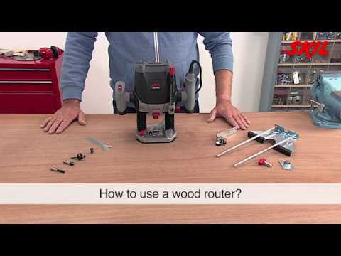 How to use a wood router?