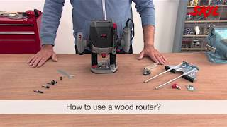 How to use a wood router