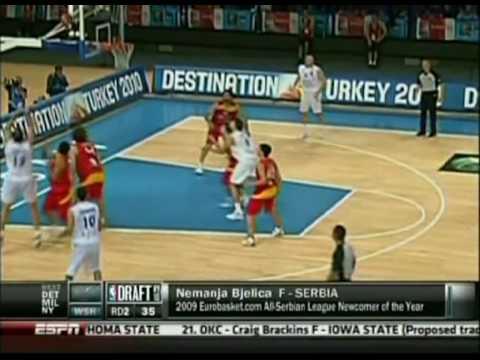 Nemanja Bjelica - NBA DRAFT 2010