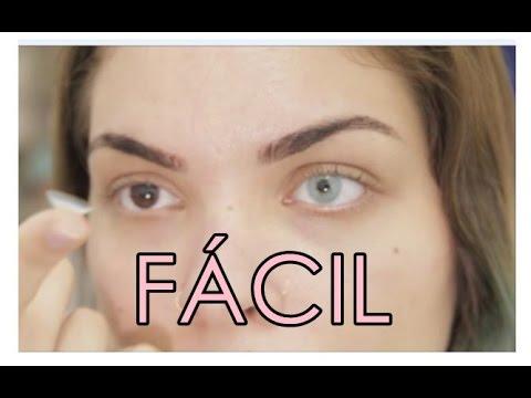 Como colocar lentes de contato FÁCIL - Iniciantes - YouTube 44d64d8f4f