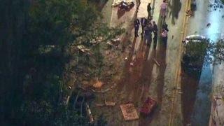Explosion rips through New York City street
