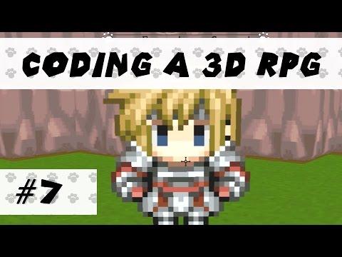 Making a 3D RPG (Game Maker) - Part 7 - Basics of Combat