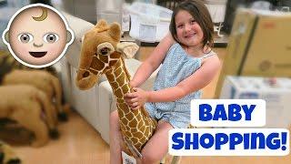 Baby Boy Nursery Shopping At Toys R Us