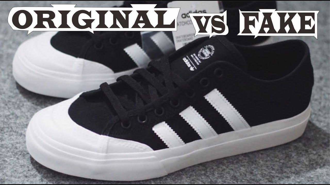 colonia fluir Molester  Adidas Skateboarding Matchcourt ADV Original & Fake - YouTube