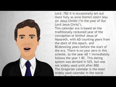 Anno Domini - Wiki Videos
