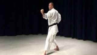 Shotokan karate kata. Bassai Dai, Kanku Dai, Jion, Empi and Hangetsu video clips