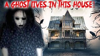 A GHOST LIVES IN THIS HAUNTED ABANDONED HOUSE *IT HURT ME* | MOE SARGI
