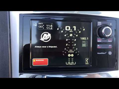 How to:  basic install and set up of mercury verado vessel view 7