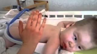 Лечение мокрого кашля у ребенка: дренажный массаж(, 2013-10-30T11:58:32.000Z)