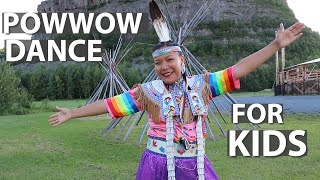How To Powwow Dance FOR KIDS