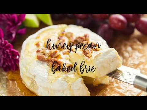 How To Make Baked Brie with Honey and Pecans Recipe (And Cute Party Ideas)
