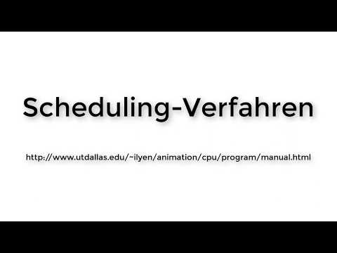 Java applet CPU Scheduling Algorithm Animations