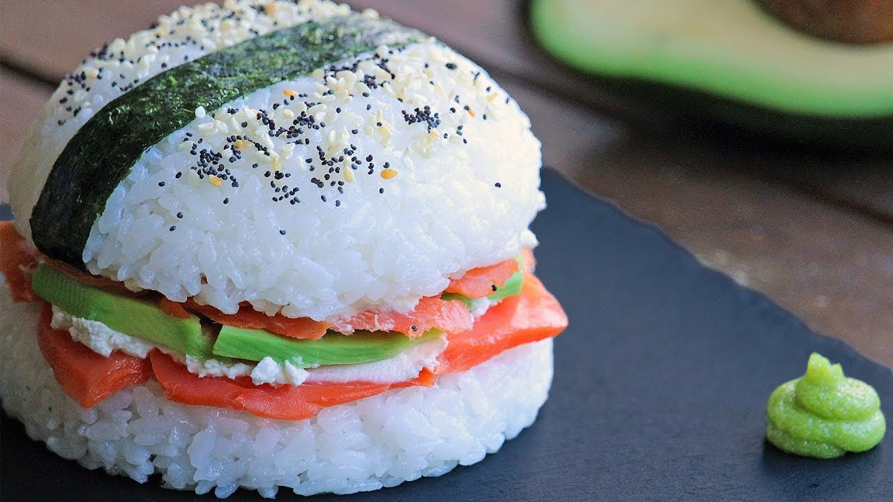 Sushi Burger Recipe | How Tasty Channel - YouTube