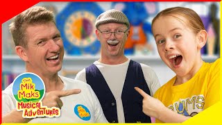 This Old Man Nursery Rhyme For Kids | Songs For Children | The Mik Maks | Counting Songs for Kids