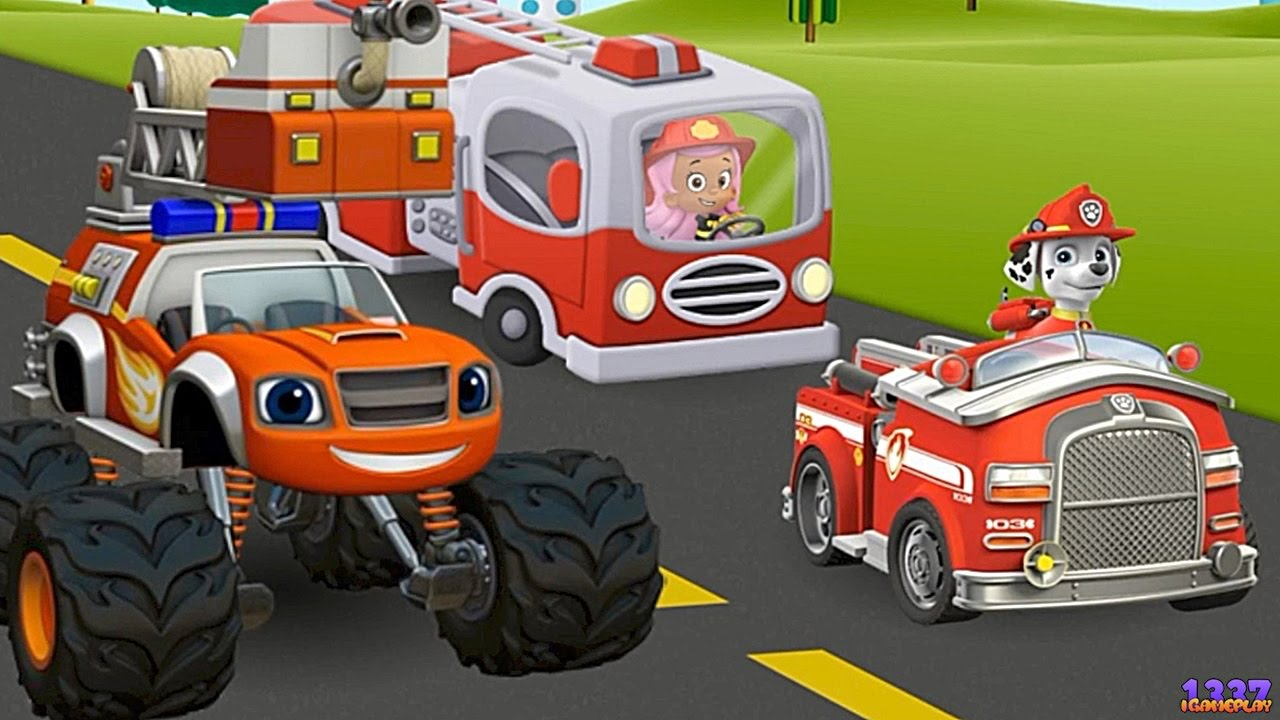 PAW Patrol Amp Blaze And The Monster Machines FIREFIGHTERS