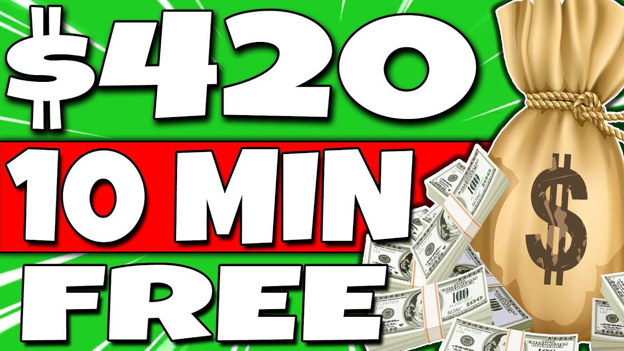 Earn $420 In 10 Mins For FREE Over & Over AGAIN! (Make Money Online)