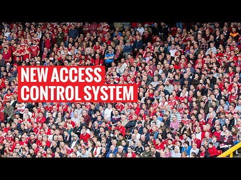 Your guide to our new access control system at Pittodrie