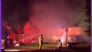 Wisconsin Rapids House Fire April 20th 2015