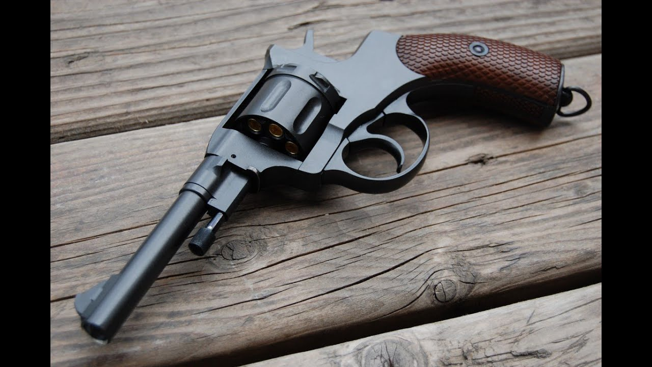 Wingun Nagant M1895 CO2 Revolver Overview