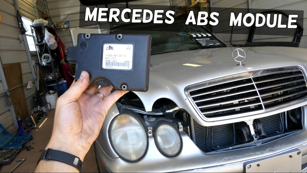 maxresdefault mercedes w208 abs module removal replacement clk200 clk230 clk 320  at gsmportal.co
